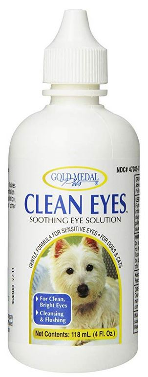 Gold Medal Pets Clean Eyes for Cats and Dogs, 4 oz.
