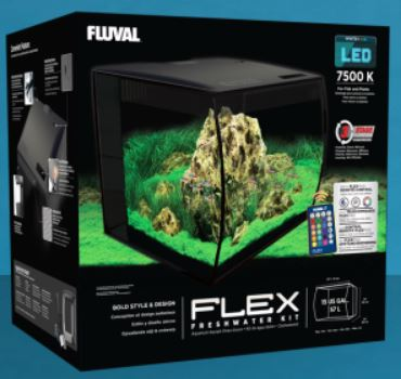 FLEX Aquarium Kit, 15 US gal. (57 L)