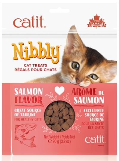 Catit Nibbly Cat Treats - Salmon