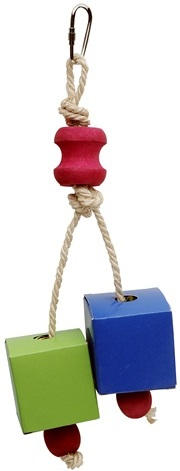Festive Favors Rope Wood & Paper Box Toy