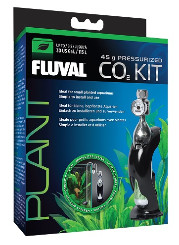 Fluval Pressurized 1.6oz CO2 Kit