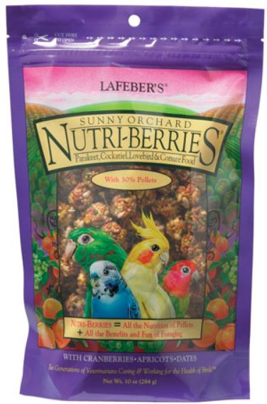 Sunny Orchard Nutri-Berries for Cockatiels