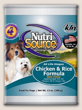 Chicken & Rice Formula Canned Dog Food