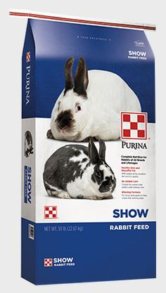 Purina Mills Show Rabbit Feed, 50#