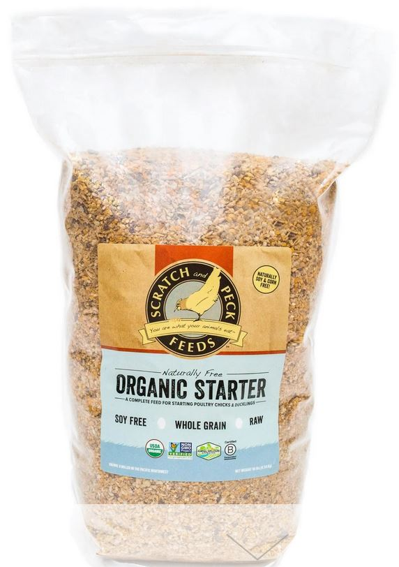 Naturally Free Organic Chicken Feed Starter