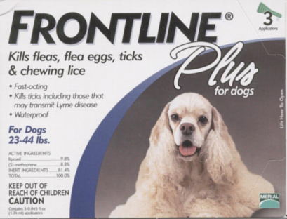 Frontline Plus (23-44 lb. dogs)