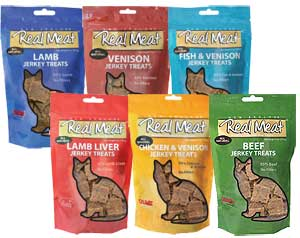 Real Meat Treats Feline