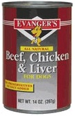 Beef with Chicken & Liver