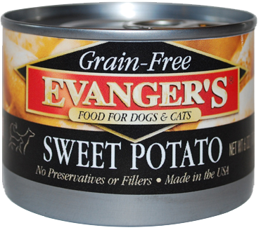 100% Grain Free Sweet Potato Canned