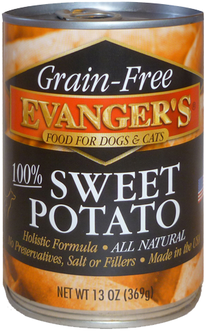 100% Grain Free Sweet Potato for Dogs & Cats