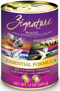 Zssential Formula Canned Dog Food