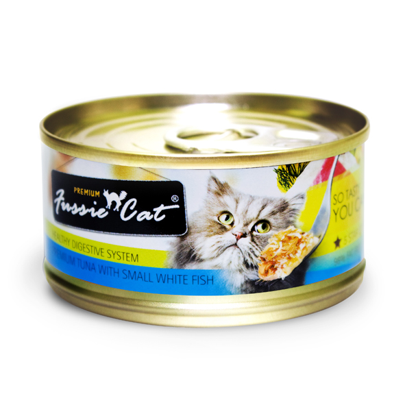 Premium Tuna with Baby Whitefish Canned