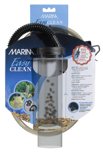 Marina Easy Clean Small Aquarium Gravel Cleaner