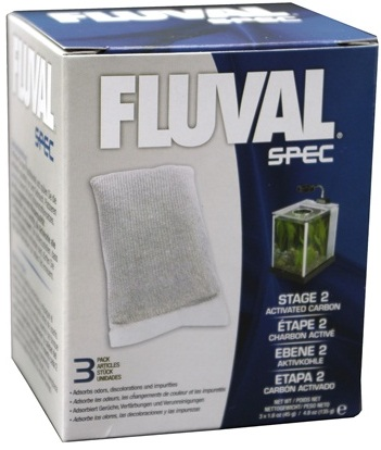 Fluval SPEC Replacement Carbon, 3 Pack