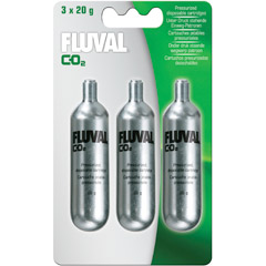 Fluval 20g CO2 Cartridges (3 pack)