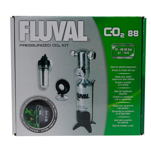 Fluval Pressurized CO2 Kit 88