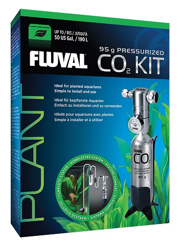 Fluval Pressurized 3.3 oz CO2 Kit