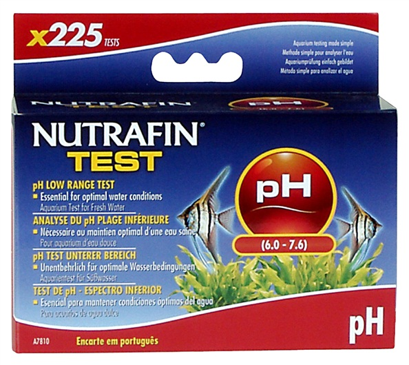 Nutrafin pH Low Range Test