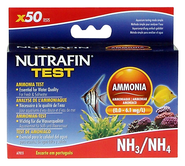 Nutrafin Ammonia Test Kit (0.0 - 6.1 mg/L)