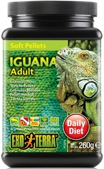 Exo Terra Iguana Soft Pellets - Adult