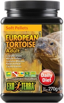 Exo Terra European Tortoise Adult Soft Pellets