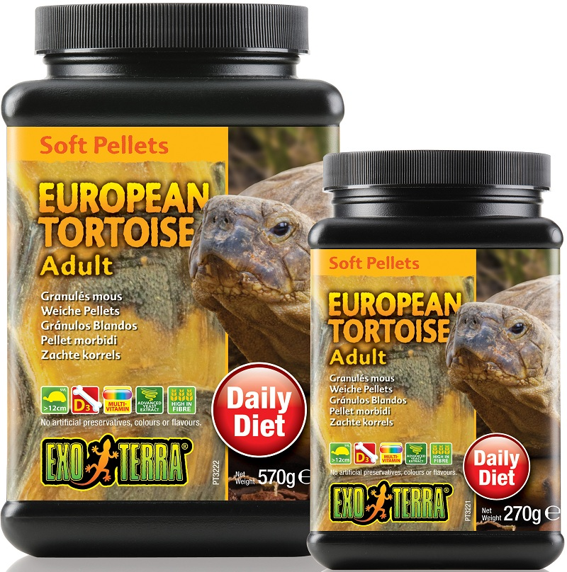Exo Terra European Tortoise Food