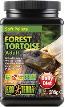 Exo Terra Forest Tortoise Adult Soft Pellets