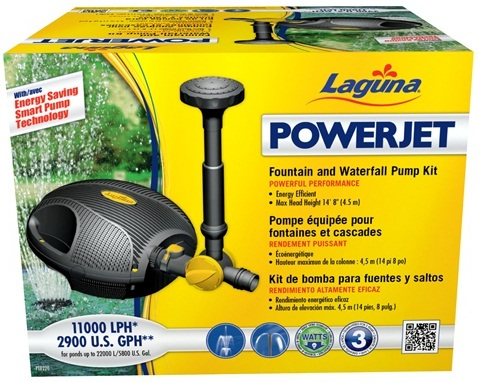 Laguna PowerJet 2900 Fountain/Waterfall Pump Kit