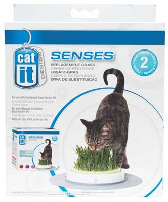 Catit Design Senses Grass Garden Kit Grass Refill