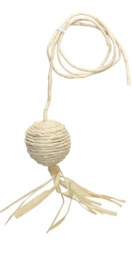 Raffia Ball with String