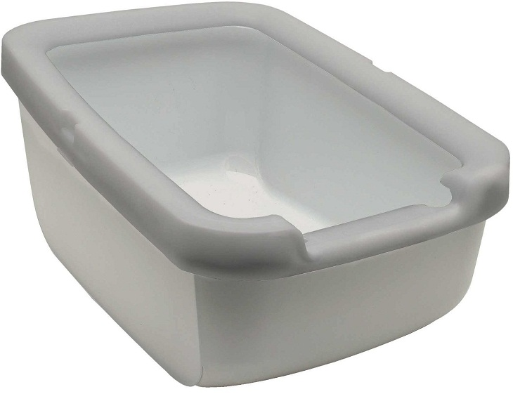 Catit Cat Pan with Litter Shield Rim