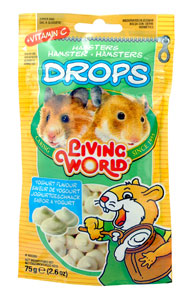 Living World Hamster Yogurt Drops 2.6 oz.