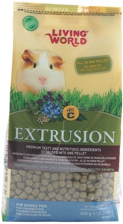 Living World Extrusion Diet for Guinea Pigs