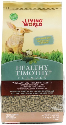 Living World Healthy Timothy Formula For Rabbits