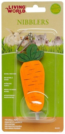 Nibblers Wood Chews - Carrot on Stick