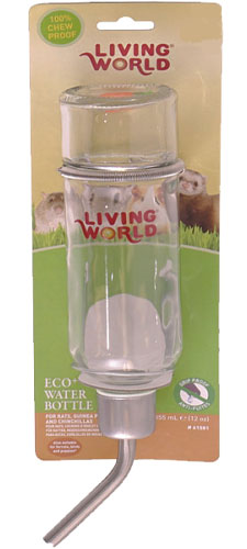 Living World Eco+ Glass Water Bottles
