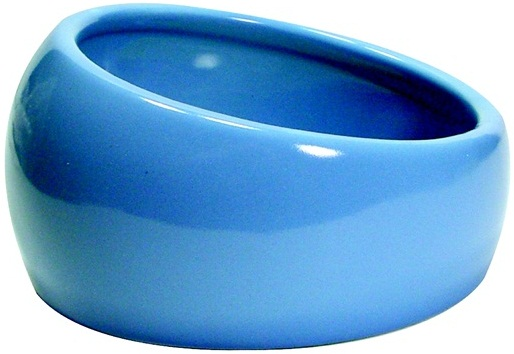 Living World Ergonomic Dish Blue/Ceramic