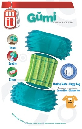Gumi Dental Dog Toy-Chew & Clean
