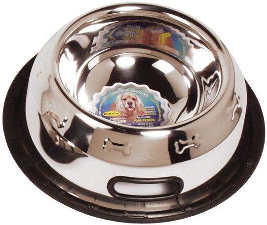 Stainless Steel Non Spill Dog Dish