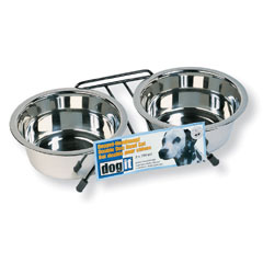 Stainless Steel Double Dog Diners