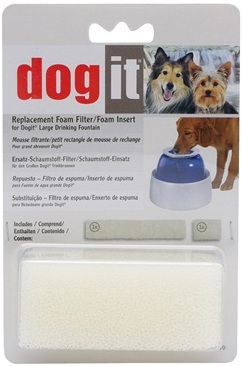 Dogit Drinking Fountain Replacement Small/Large Foam Filter