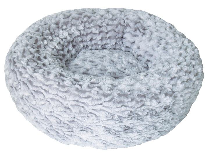 Rosebud Bed (Grey, Extra Small)