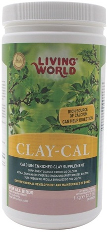 Clay-Cal Calcium Enriched Clay Supplement for Birds