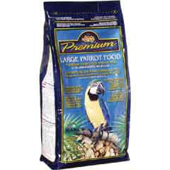 Living World Premium Parrot Mix
