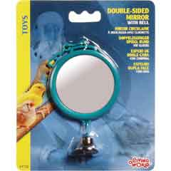 L/W Double-side Round Mirror with Bell (Large)