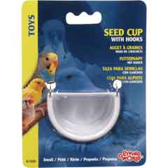 Living World Seed Cup with Metal Hook