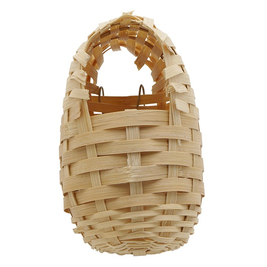 Bamboo Bird Nest for Finches, Small