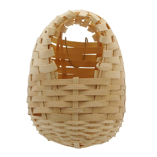 Bamboo Bird Nest for Finches, Large