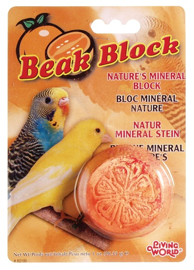 Mineral Beak Block - Orange