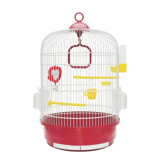Ruby Bird Cage